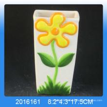 Hochwertiger Dekor-Blumenentwurf Keramischer Luftbefeuchter