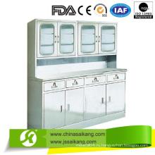 Аппаратура больницы лечения шкафа с четырьмя ящиками