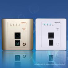 150Mbps de alta velocidade no porto sem fio do router 2 da parede para salas de hotel, hotel WiFi Ap, router sem fio encaixado de Metope