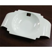 Bacia cerâmica branca dos utensílios de mesa da melamina de imitação (CP-030)