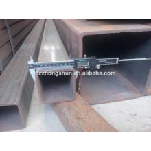 MS Carbono Preto Tubo Quadrado de Aço / Galvanizado / Pré Galvanizado Tubo Quadrado