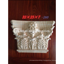 Good Quality Hand Carved Wood Capitals