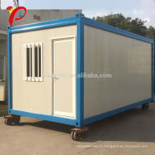 Malaisie Flat Pack New Design fini en acier 20 pieds extensible Living Container House