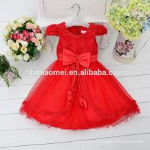 детская одежда корейский мода белый цвет цветок девушка платье 3-летней девочки платье