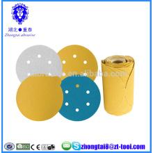 6 дюймов абразивный наждачная бумага диск