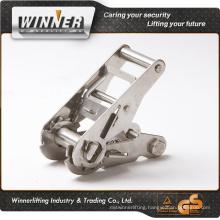 Top manufacturer!! stainless steel webbing ratchet tie down belt