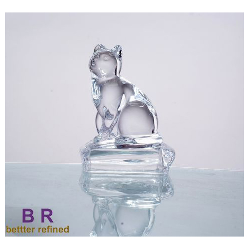 GlassStatue For Gift Home Decoration