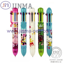 Die Förderung Geschenke Kunststoff Multi-Color Kugelschreiber Jm-M001