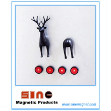 Creative Cartoon Animal Deer Fridge Magnet