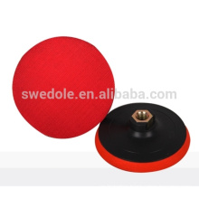 Plastic Backing Pad with hook and loop fastener or for polishing