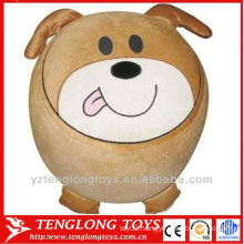 plush cute puppy stool Inflatable animal stool