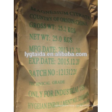food grade magnesium citrate manufacturer