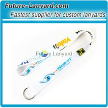 Promotional Heat-transfer Printing polyester exhibition Lanyard