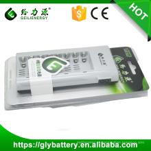 Carregador Geilienergy para bateria recarregável AA / AAA