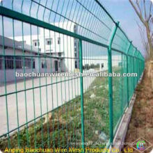 Green Dip Beschichtung Schutz der Straße Segregation Zaun