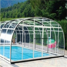 Aluminum Swimming Pool Shelter