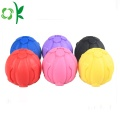 Squeaky Giggle Dog Toy Silicone Pets Ball Chewtoy