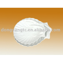 Factory direct wholesale porcelain shell plate