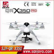 Walkera QR X350 PRO GPS Phantom rc quadcopter FPV rc drone with DEVO F7 and ilook camera