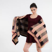 2017 New Design Knitting Pattern Cashmere Women Chshmere Scarf