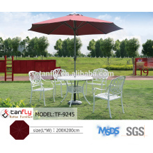 leisure waterproof garden cafe outdoor patio umbrella