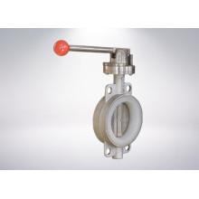 Válvula de mariposa con brida ISO 5211 Tope