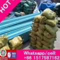 Professional Galvanized Steel Highway Guardrail, Q235 Painted Corrugated Spray Waveform Guardrail Factory Supply