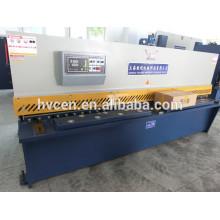 Qc12y-8 * 4000 cisaillère hydraulique / cisaillère en acier hydraulique
