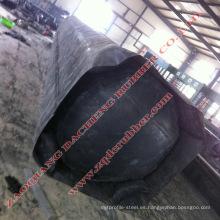 Mandril de goma para moldeo profesional para trabajos de fabricación de alcantarillas.
