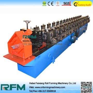 Keel rodillo de la máquina de formación, línea de producción de acero pista