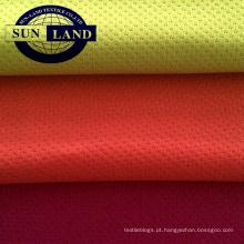 poliéster escovado tecido de malha de lã para o inverno moletom com capuz