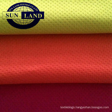 polyester brushed mesh fleece fabric for winter hoodie