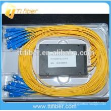 Tipo de Caja ABS 2x32 Fibra Óptica PLC Splitter