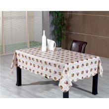 Nonwoven / toalha de mesa impressa apoio do PVC de Spunlace no rolo