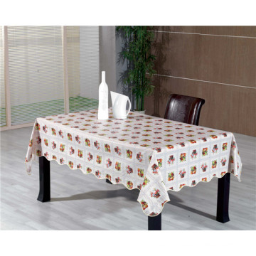 Nonwoven/Spunlace Backing Printed PVC Tablecloth in Roll