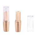 Delicate Oval Gold Lipstick Tube