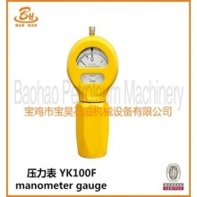 YK100F Manometer Gauge for Drilling Pump