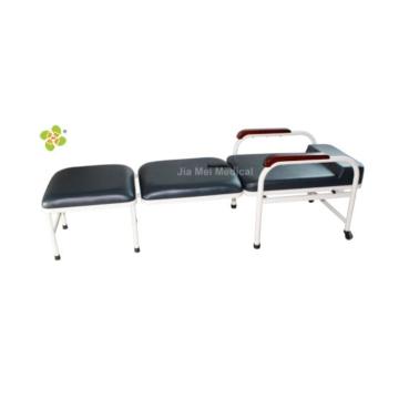 Foldable hospital accompany chair bed