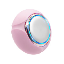 Escova de limpeza facial de silicone para cuidados pessoais de beleza