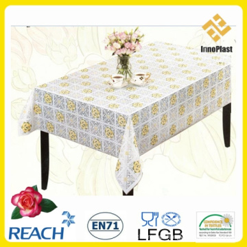 PVC Lace Nt Table Cloth New Style Wholesale (TJ0183)