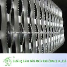 Перфорированный металлический забор (поставщик из Китая)