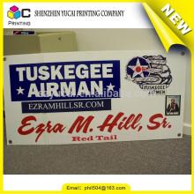 Venda quente cusotm Digital Printing banner indoor de parede de PVC