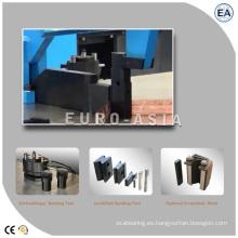 Maquinaria de plegado servo de fabricación hidráulica de barras colectoras CNC