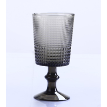 Grey Color Glass Tumbler And Goblet