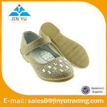 fashion glitter ballerina shoe with diamonds