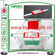Shopping Cart poignée de panneau publicitaire