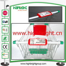 Shopping Cart Handle Advertising Board
