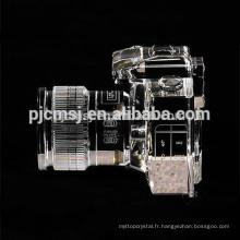 Personnaliser le cristal crystal reflex appareil photo reflex mono-objectif pour cadeau
