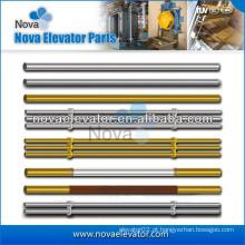 Corrimão da cabine de elevação do passageiro do aço inoxidável do hairline, componentes do elevador