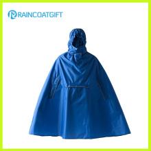 Diseño de moda peso ligero Poncho de lluvia de bolsillo